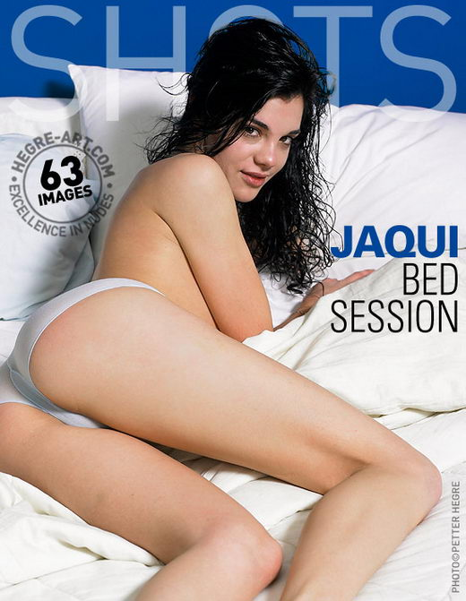 Jaqui - `Bed Session` - by Petter Hegre for HEGRE-ART