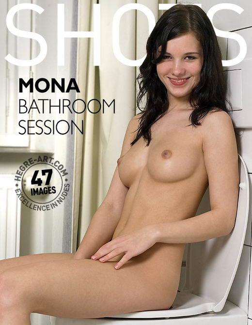 Mona - `Bathroom Session` - by Petter Hegre for HEGRE-ART
