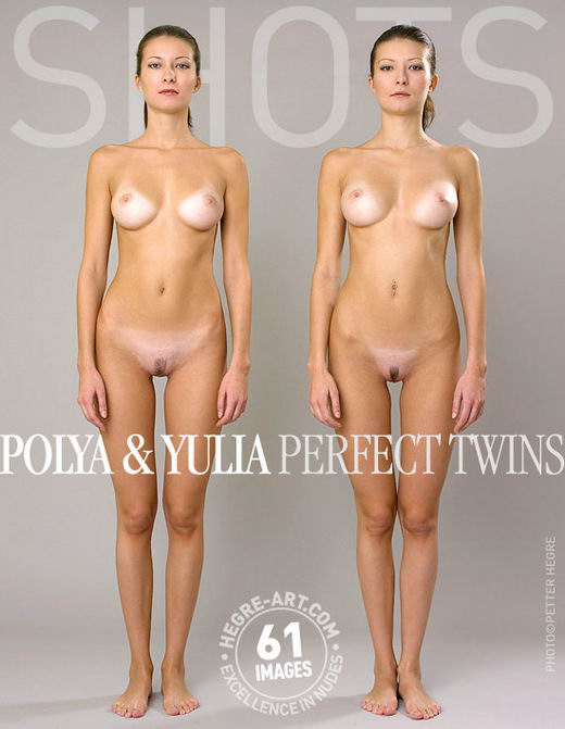Polya & Yulia - `Perfect Twins` - by Petter Hegre for HEGRE-ART