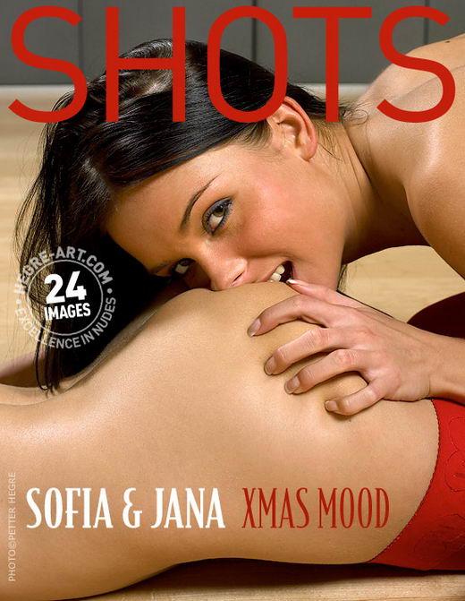Sofia And Jana in Xmas Mood gallery from HEGRE-ART by Petter Hegre