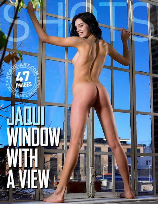 Jaqui - `Window With A View` - by Petter Hegre for HEGRE-ART