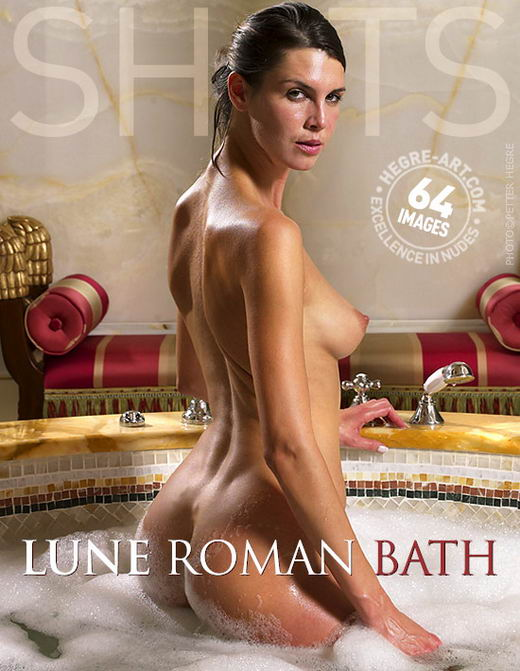 Lune - `Roman Bath` - by Petter Hegre for HEGRE-ART