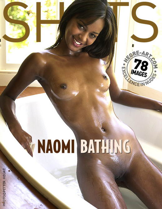 Naomi - `Bathing` - by Petter Hegre for HEGRE-ART