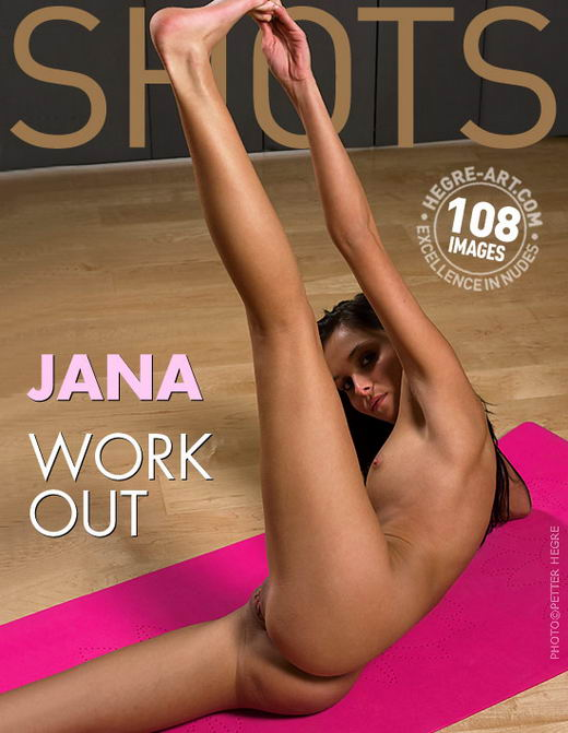 Jana in Work Out gallery from HEGRE-ART by Petter Hegre