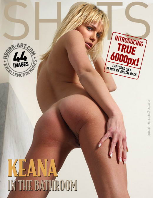 Keana - `In The Bathroom` - by Petter Hegre for HEGRE-ART
