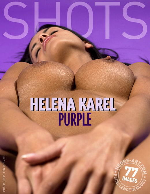 Helena Karel in Purple gallery from HEGRE-ART by Petter Hegre