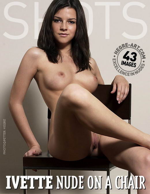 Ivette - `Nude On A Chair` - by Petter Hegre for HEGRE-ART