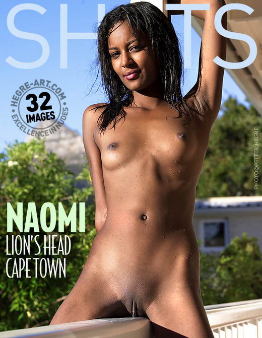 Naomi - `Lions Head Cape Town` - by Petter Hegre for HEGRE-ART