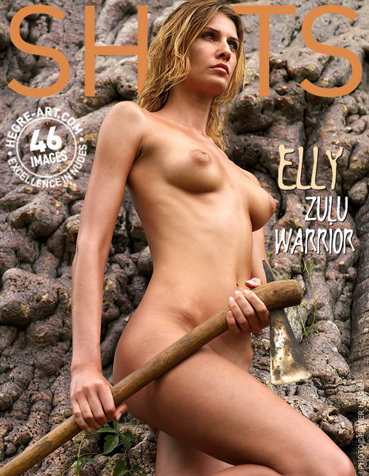 Elly - `Zulu Warrior` - by Petter Hegre for HEGRE-ART