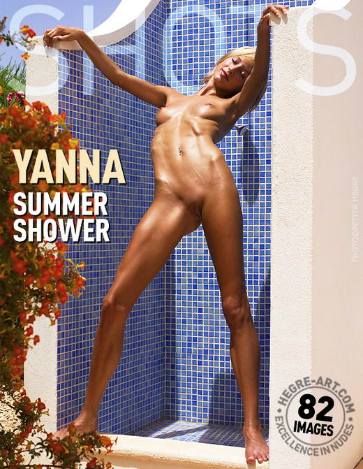 Yanna - `Summer Shower` - by Petter Hegre for HEGRE-ART