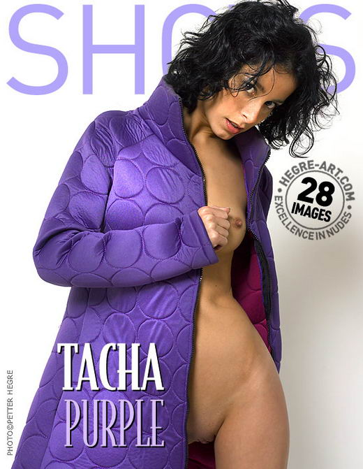 Tacha in Purple gallery from HEGRE-ART by Petter Hegre