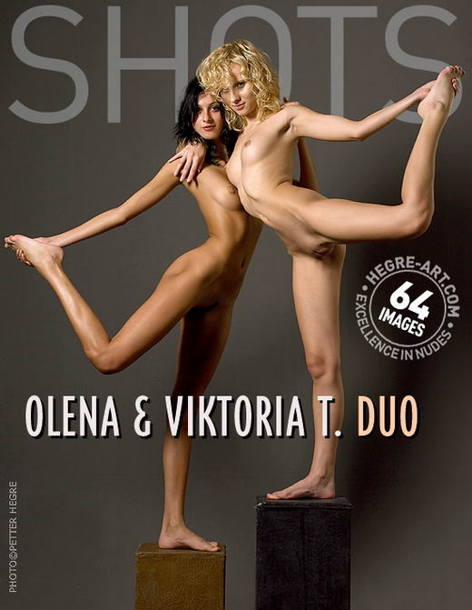 Olena And Viktoria T - `Duo` - by Petter Hegre for HEGRE-ART