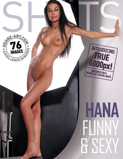 Hana - `Funny & Sexy` - by Petter Hegre for HEGRE-ART
