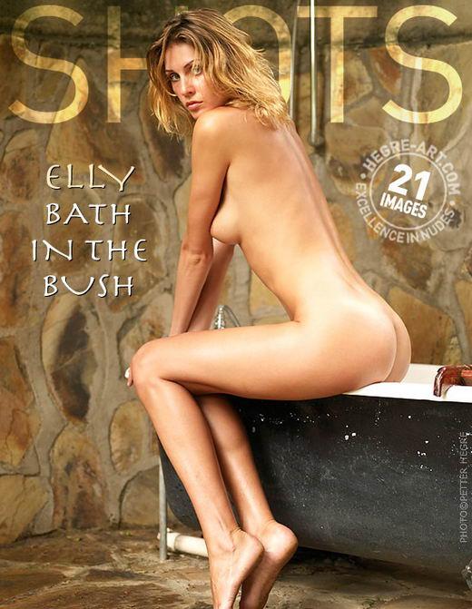 Elly in Bath In The Bush gallery from HEGRE-ART by Petter Hegre