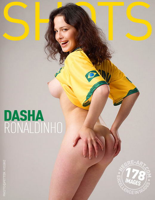 Dasha - `Ronaldinho` - by Petter Hegre for HEGRE-ART
