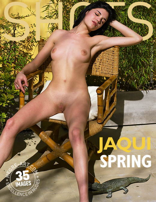 Jaqui - `Spring` - by Petter Hegre for HEGRE-ART
