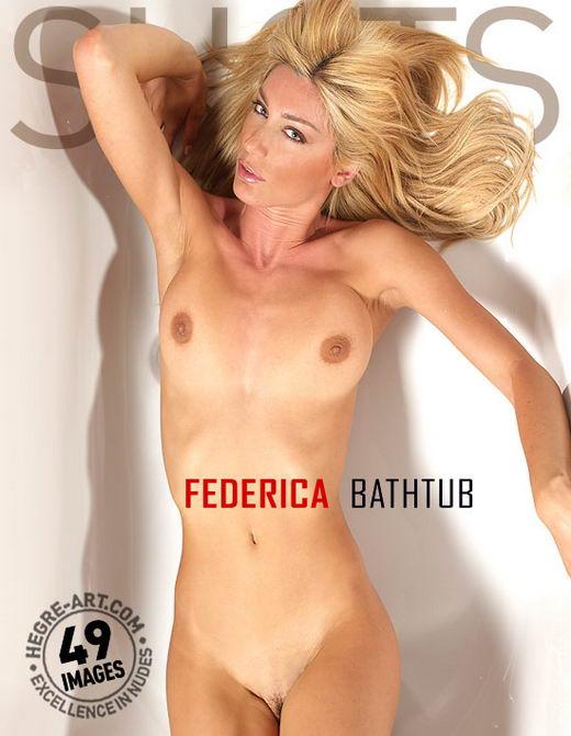 Federica - `Bathtub` - by Petter Hegre for HEGRE-ART