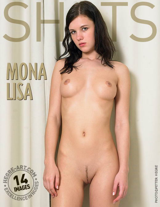 Mona - `Mona Lisa` - by Petter Hegre for HEGRE-ART