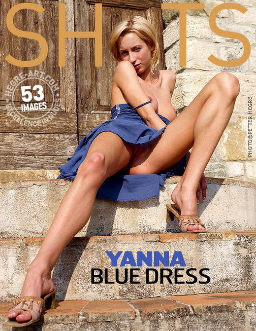 Yanna - `Blue Dress` - by Petter Hegre for HEGRE-ART
