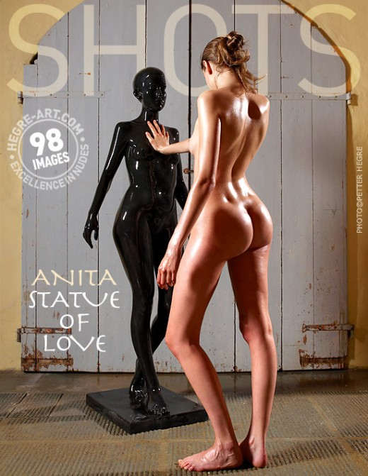 Anita - `Statue Of Love` - by Petter Hegre for HEGRE-ART