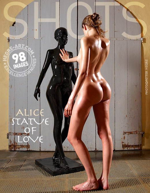 Alice - `Statue of Love` - by Petter Hegre for HEGRE-ART