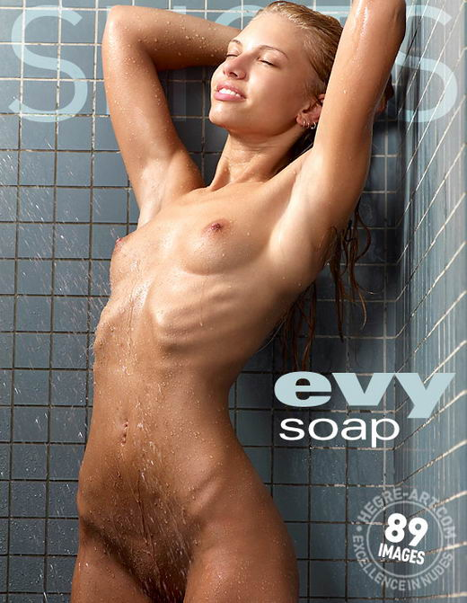 Evi - `Soap` - by Petter Hegre for HEGRE-ART