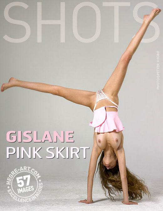 Gislane - `Pink Skirt` - by Petter Hegre for HEGRE-ART
