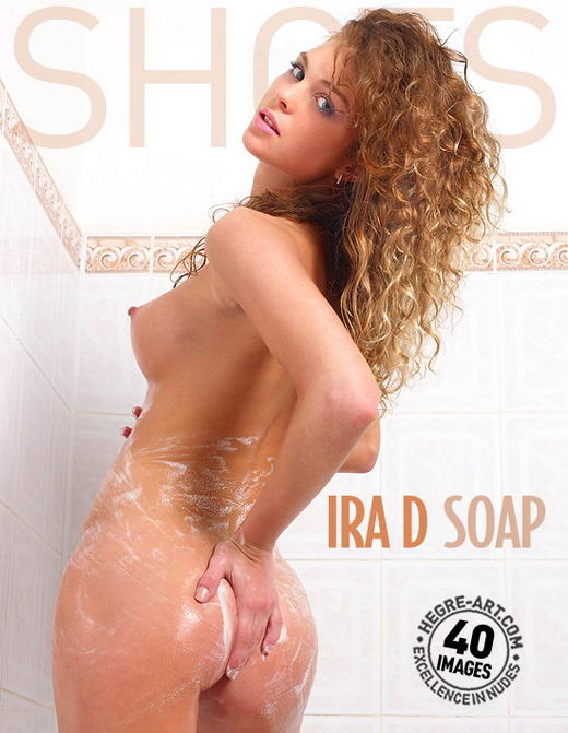 Ira D - `Soap` - by Petter Hegre for HEGRE-ART
