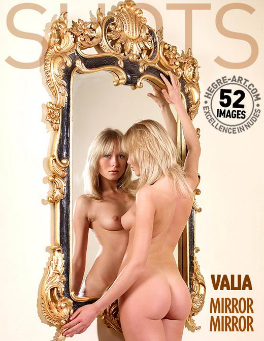 Valia - `Mirror Mirror` - by Petter Hegre for HEGRE-ART