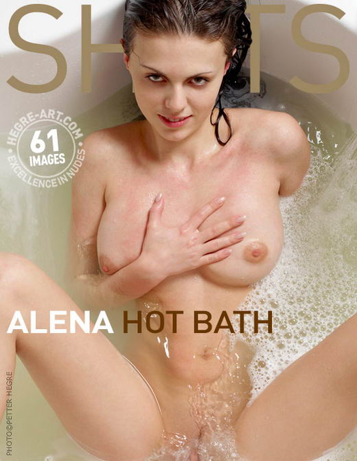 Alena - `Hot Bath` - by Petter Hegre for HEGRE-ART