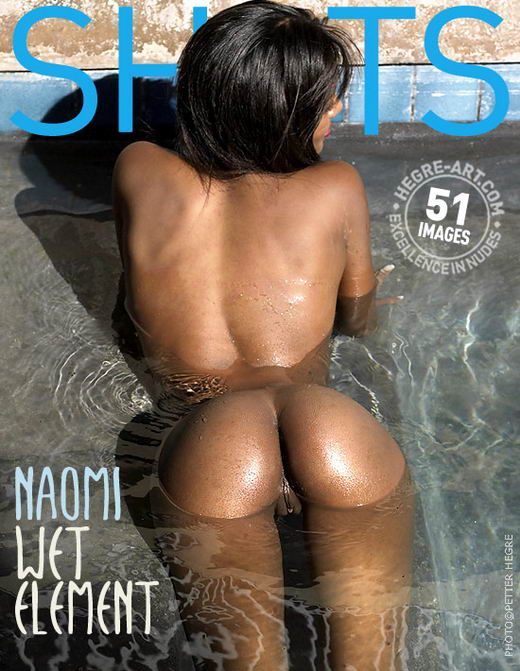 Naomi - `Wet Element` - by Petter Hegre for HEGRE-ART