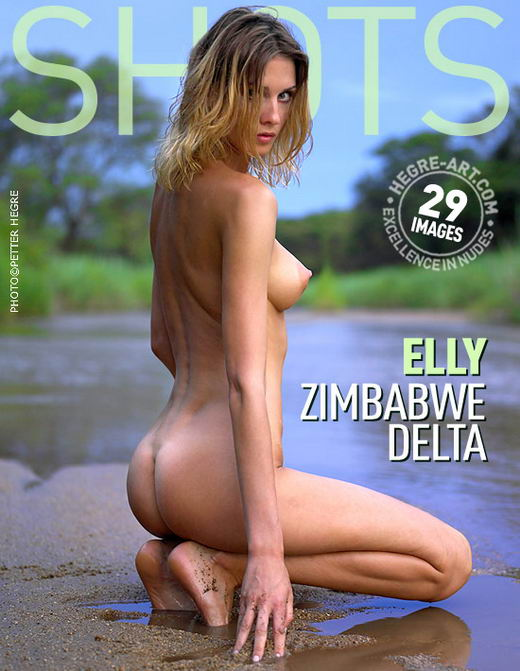 Elly - `Zimbabwe Delta` - by Petter Hegre for HEGRE-ART