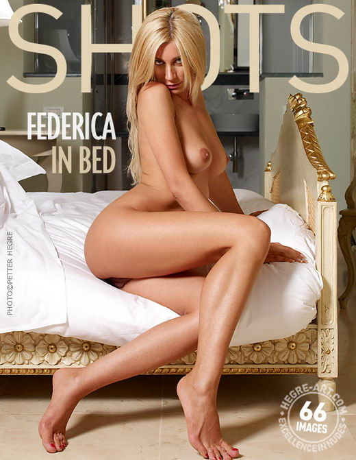 Federica - `In Bed` - by Petter Hegre for HEGRE-ART