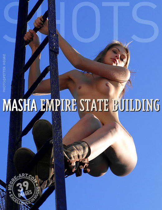 Masha - `Empire State Building` - by Petter Hegre for HEGRE-ART