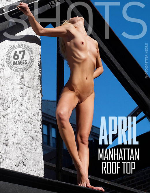 April - `Manhattan Roof Top` - by Petter Hegre for HEGRE-ART