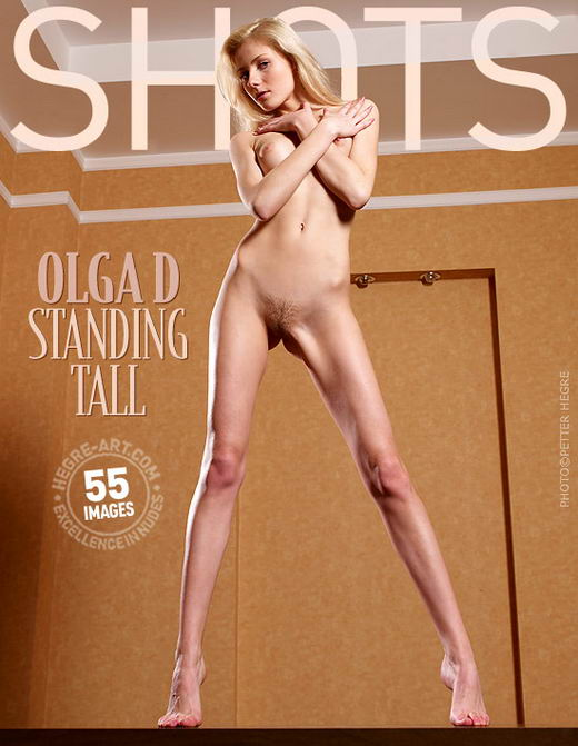 Olga D - `Standing Tall` - by Petter Hegre for HEGRE-ART