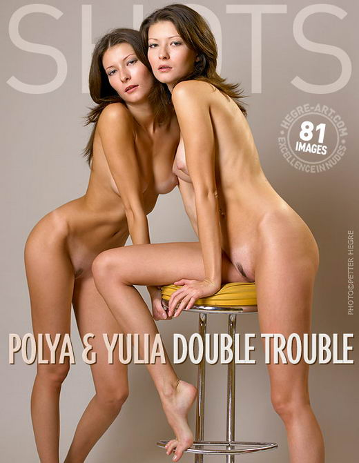 Polya And Yulia - `Double Trouble` - by Petter Hegre for HEGRE-ART