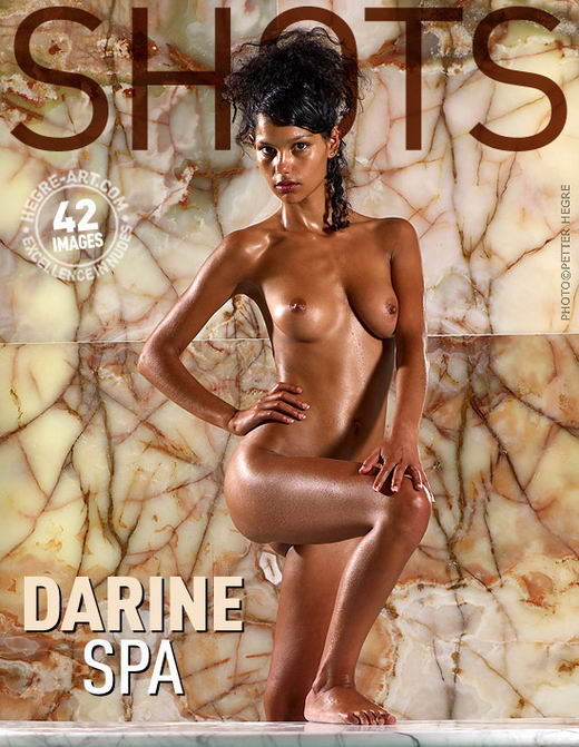 Darine - `Spa` - by Petter Hegre for HEGRE-ART