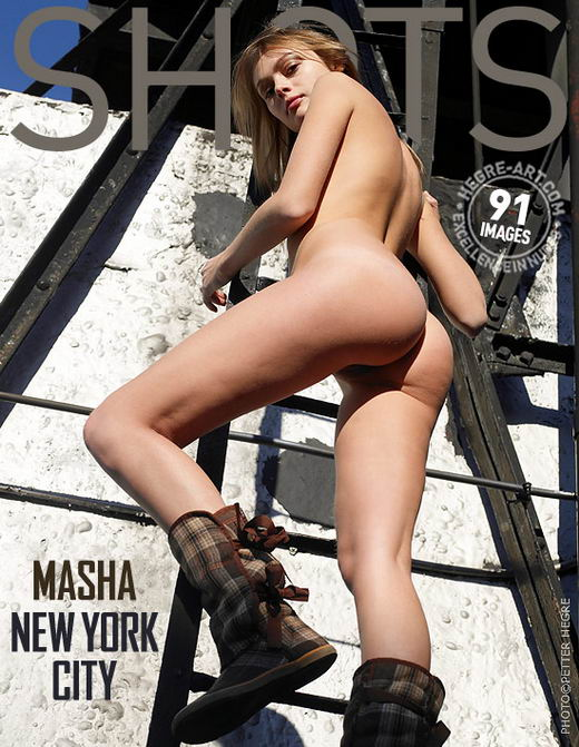 Masha - `New York City` - by Petter Hegre for HEGRE-ART