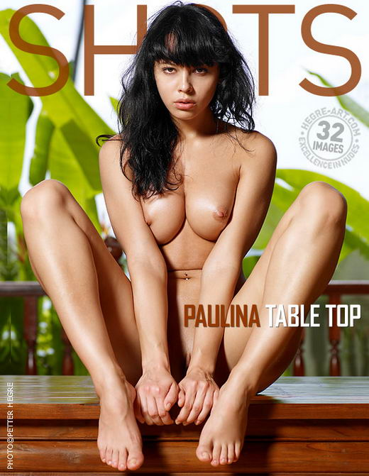 Paulina - `Table Top` - by Petter Hegre for HEGRE-ART