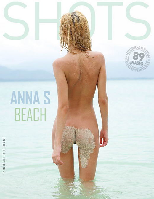 Anna S - `Beach` - by Petter Hegre for HEGRE-ART