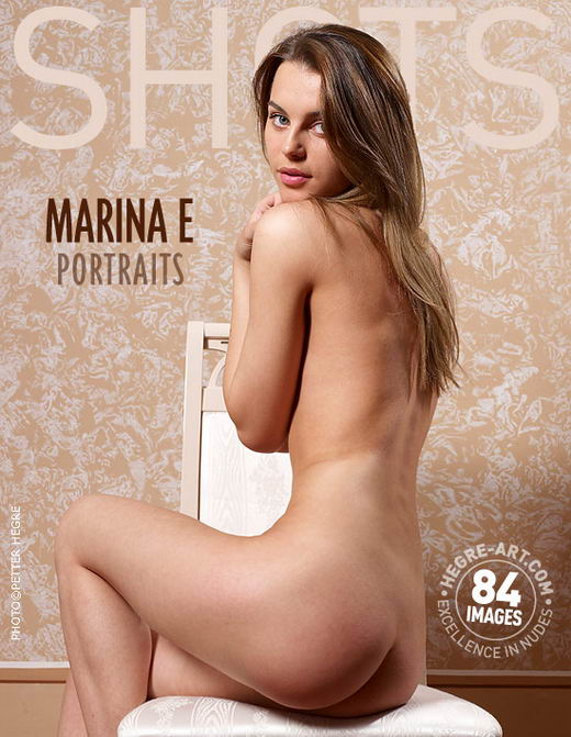 Marina E - `Portraits` - by Petter Hegre for HEGRE-ART