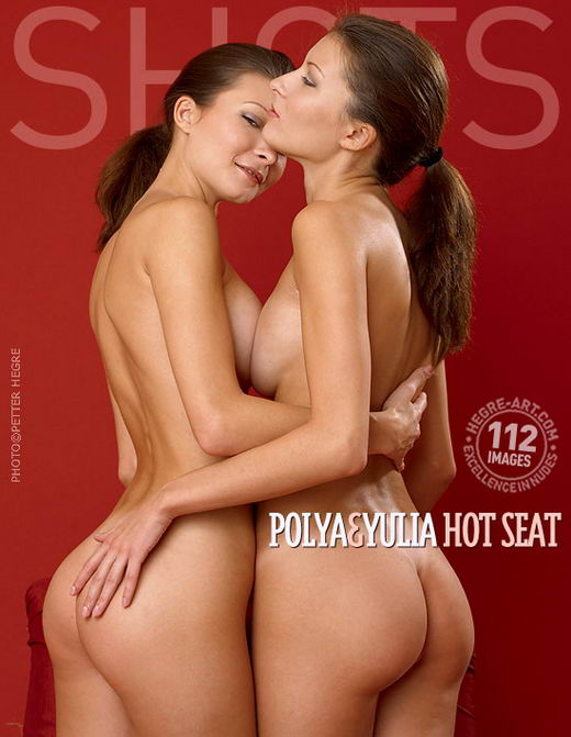 Polya & Yulia - `Hot Seat` - by Petter Hegre for HEGRE-ART