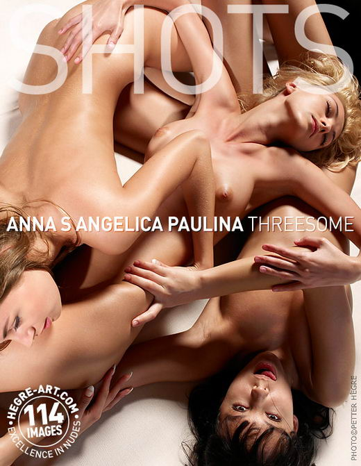 Anna S & Angelica & Paulina - `Threesome` - by Petter Hegre for HEGRE-ART