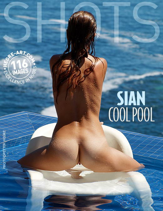 Sian - `Cool Pool` - by Petter Hegre for HEGRE-ART