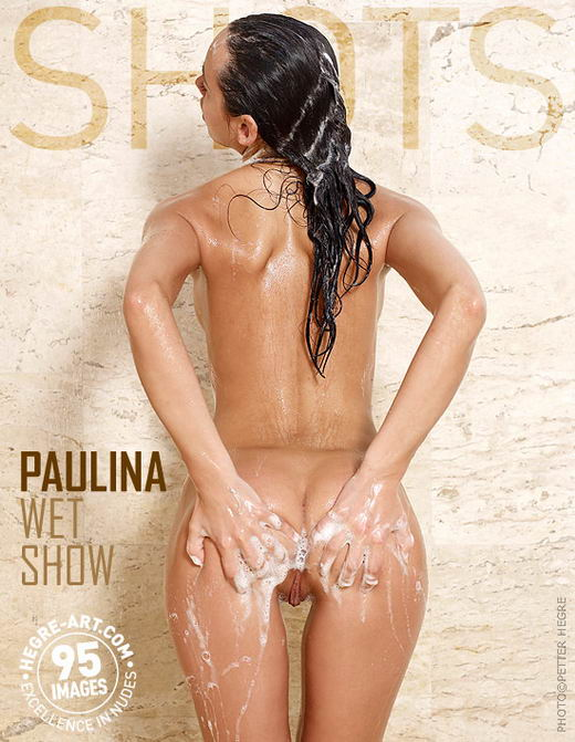 Paulina - `Wet Show` - by Petter Hegre for HEGRE-ART