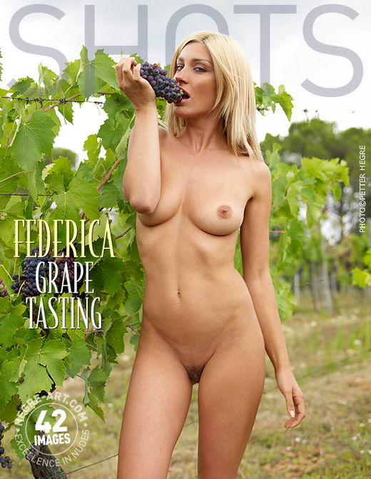 Federica - `Grape Tasting` - by Petter Hegre for HEGRE-ART