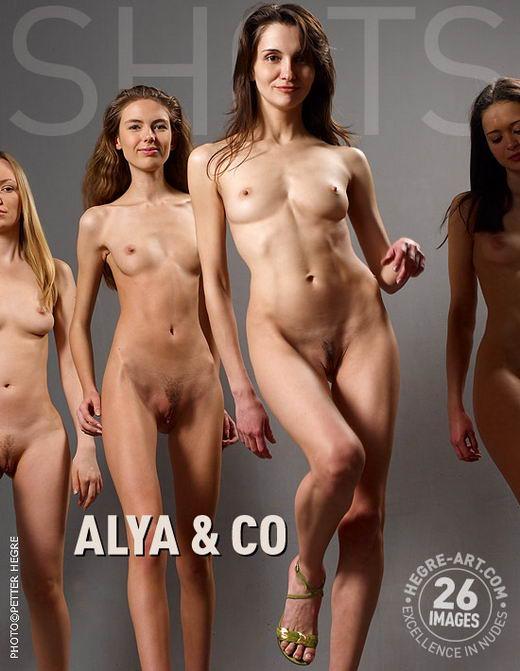 Alya & Elina - `Alya & Co` - by Petter Hegre for HEGRE-ART