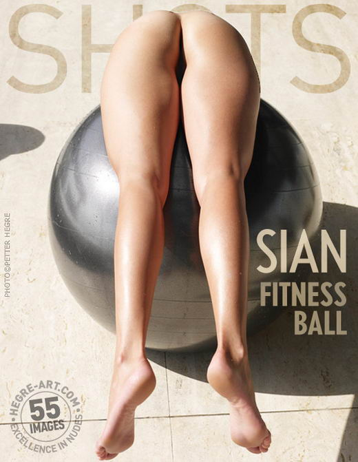 Sian - `Fitness Ball` - by Petter Hegre for HEGRE-ART