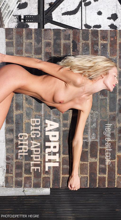 April - `Big Apple Girl` - by Petter Hegre for HEGRE-ART